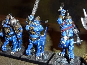 Dragon Ogres close up (front-left)