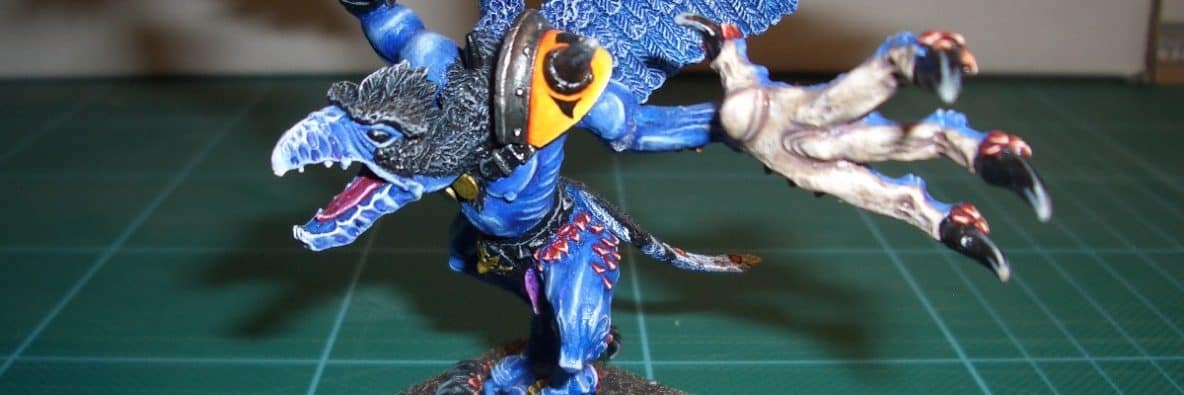 Featured image - Tzeentch Hordes of Chaos (Daemon Prince)