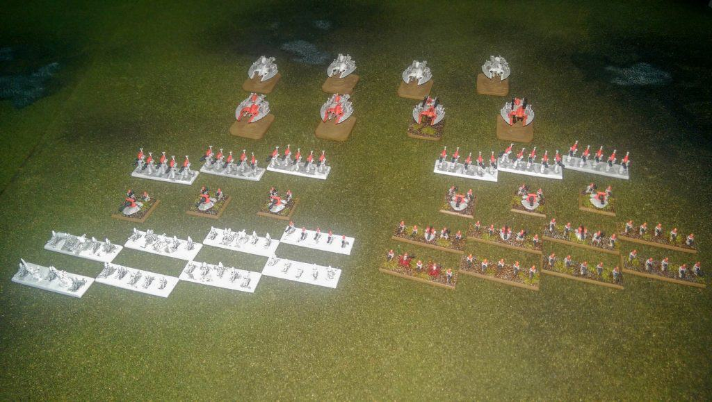 First Epic Eldar formations in progress